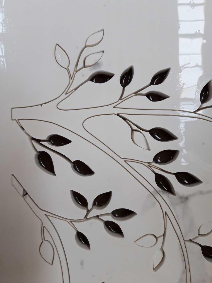 dekor liście